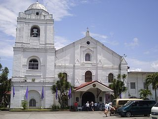 Church in Laguna, Philippines