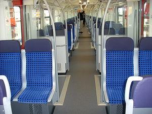 DBAG Class 430 - Image: Fahrgastraum Br 430