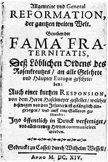 <i>Fama Fraternitatis</i>