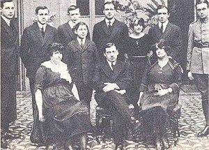 Alessandri family - Alessandri family in 1920