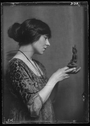 Fania Marinoff - Fania Marinoff by Arnold Genthe in 1913
