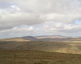 Fan Nedd mountain in United Kingdom