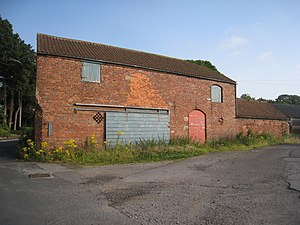 Great Coates - Image: Farm buildings, Church Farm, Great Coates (2) (geograph 2525977)
