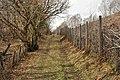 Farm road near Drumsallie and the railway to Mallaig - geograph.org.uk - 1777263.jpg