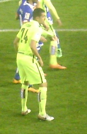 Zouhair Feddal - Feddal with Levante in 2016.