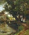 Federico Zandomeneghi Aus der Umgebung von Paris 1878.jpg