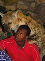 Feeding the Hyenas - Outside Walls of Old City (Jugal) - Harar - Ethiopia - 03 (8754042228).jpg