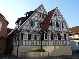 Hintere Straße in Fellbach