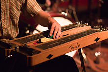 History of Console steel guitar