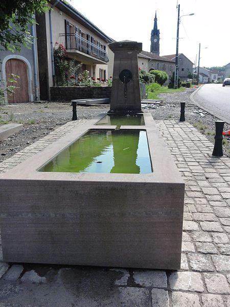 Fenneviller (M-et-M) fontaine
