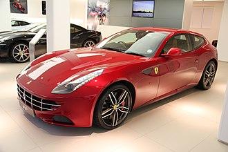 Ferrari FF - Image: Ferarri ferrari ff red (6893805907)