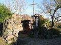 Fercé - réplique de la grotte de Lourdes.JPG