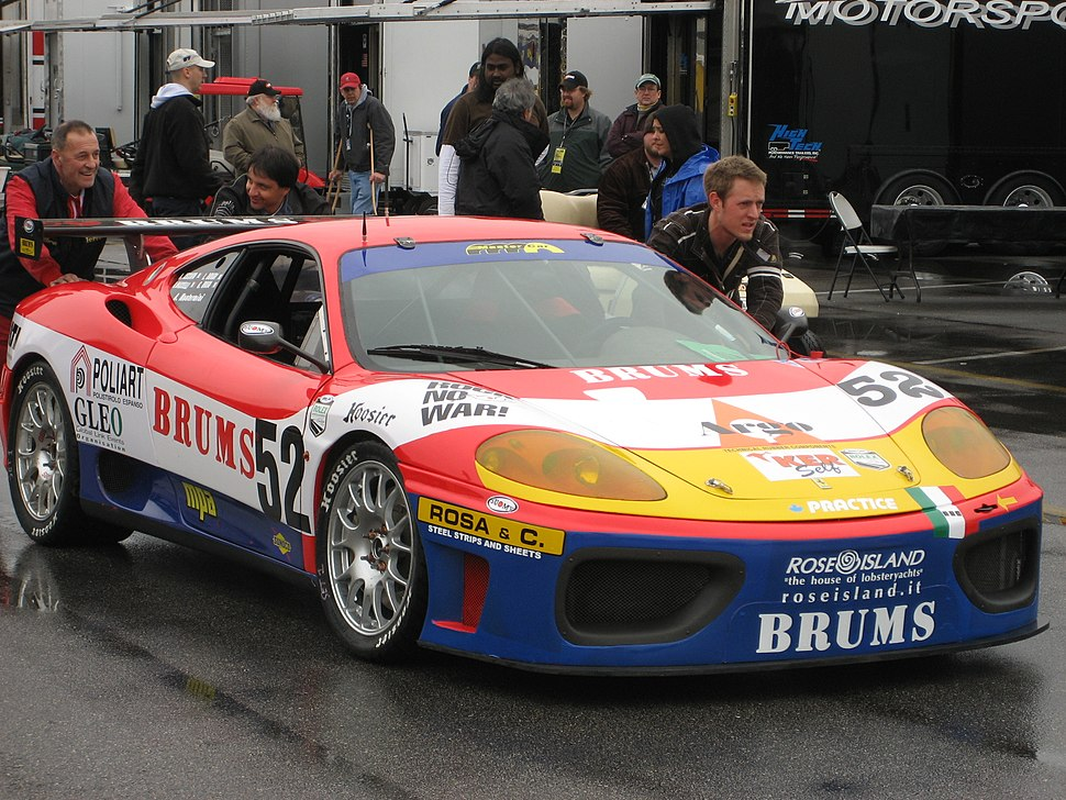 Ferrari 360 at Daytona
