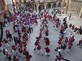Festa Major Agramunt 2015 Castellers - 12 Plaça.JPG