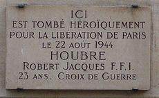 Mémoire des FFI à Paris