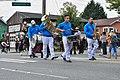 Fiestas Patrias Parade, South Park, Seattle, 2017 - 259 - musicians among the horses.jpg
