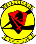 Fighter Squadron 302 (US Navy) insignia, 1971 (NH 101859-KN).png