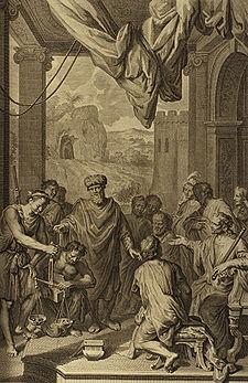 Figures Abraham Weighs Silver (crop)