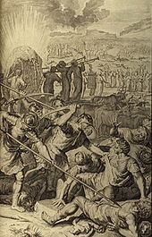 Figures Five Kings of Midian Slain by Israel
