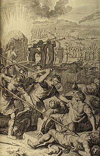 A genocide in the Hebrew Bible