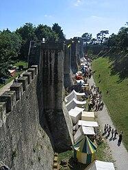 File-2009 - fête médiévale - Provins - vue d'ensemble.JPG