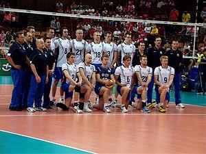 Finland men's national volleyball team - Finland national volleyball team in 2012.