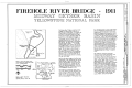 Firehole River Bridge, Spanning Firehole River at Fountain Freight Road, Lake, Teton County, WY HAER WYO,20-YELNAP,4- (sheet 1 of 3).png