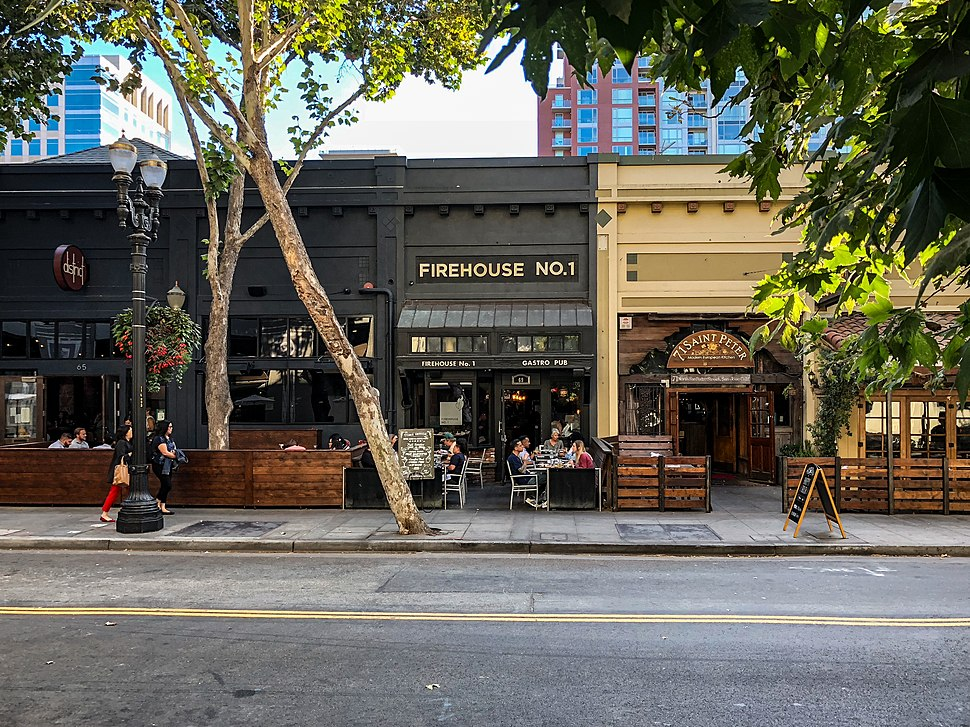 Firehouse No. 1, San Pedro Square, San Jose (44518230154)