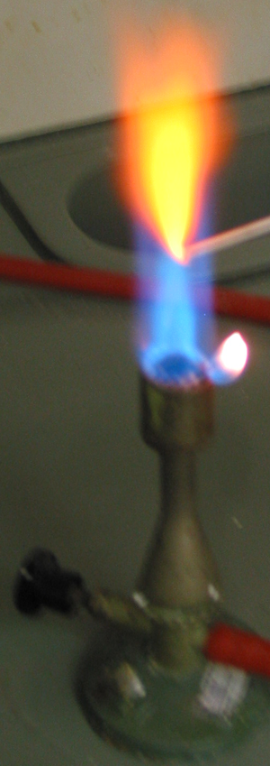 Pyrotechnic colorant - Calcium compounds glow orange in a flame.