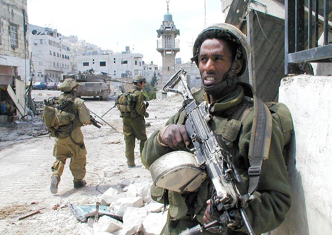 Flickr - Israel Defense Forces - Standing Guard in Nablus.jpg