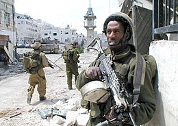 Flickr - Israel Defense Forces - Standing Guard in Nablus.jpg