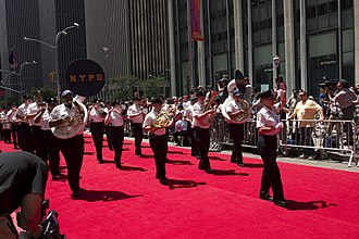 Police band (music) - The NYPD Police Band in 2008.