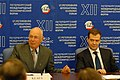 Flickr - World Economic Forum - Klaus Schwab, Dmitry Medvedev - Russia CEO Roundtable 2008 (2).jpg
