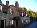 Flint Cottages in Hambleden - geograph.org.uk - 1672348.jpg