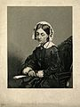 Florence Nightingale. Stipple engraving by D. J. Pound after Wellcome V0004311.jpg