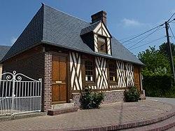 Folleville (Eure, Fr) mairie.JPG