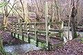 Footbridge in Nine Acre Wood - geograph.org.uk - 1620031.jpg