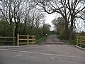 Footpath and farm road off Marston Lane - geograph.org.uk - 769977.jpg
