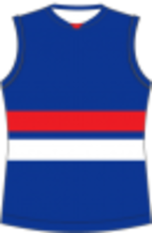 de12a9c805acf Bendigo Football League - Image  Footscray Football Guernsey