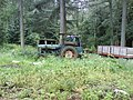 Forestry Vehicles nr Lead Wath Wood Yard - geograph.org.uk - 482681.jpg