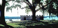Fort Frederica heute