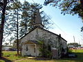 Fort McClellan World War II-era church April 2014.jpg