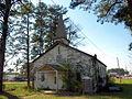 Fort McClellan World War II-era church April 2014.jpg