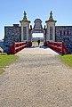 Fortress Lousbourg DSC02224 - Guard waits at Dauphin Gate (8176055022).jpg