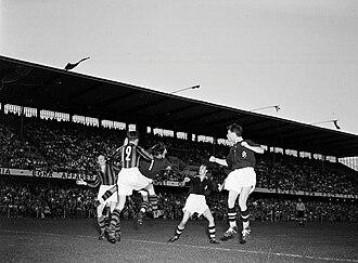 Djurgårdens IF Fotboll - Tvillingderbyt in the 1950–51 Allsvenskan season.