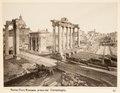 Fotografi av Roma. Foro Romano preso dal Campidoglio - Hallwylska museet - 104725.tif