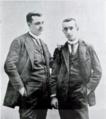 """Fotogravat dels """"germans Anselmo y Pedro Gascón de Gotor, pioneros en la identificación de materiales ibéricos"""".png"""