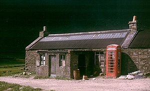 Foula - Foula post office in 1964