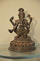 Four-armed Ganesha - Bronze - Circa 17th Century CE - Nepal - ACCN 2000-51 - Indian Museum - Kolkata 2015-09-26 4001.JPG