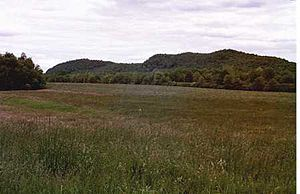 Fowler Mountain - Fowler Mountain ridgeline from below